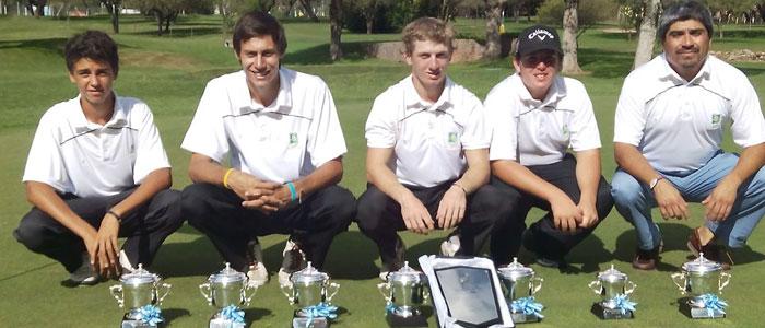 Lomas de la Carolina es el ganador 2015 del Torneo Nacional de Canchas Par 3 jugado en Posada del Sol Club de Golf & Resort.