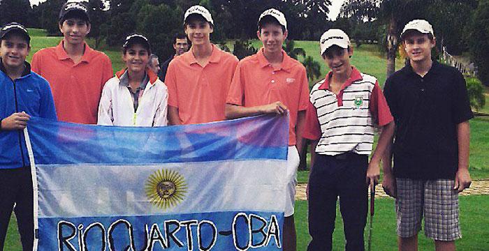 Cordobeses jugaron el Segundo Torneo Juvenil Brasilero. Mariano Racca, de Marcos Juárez, finalizó segundo
