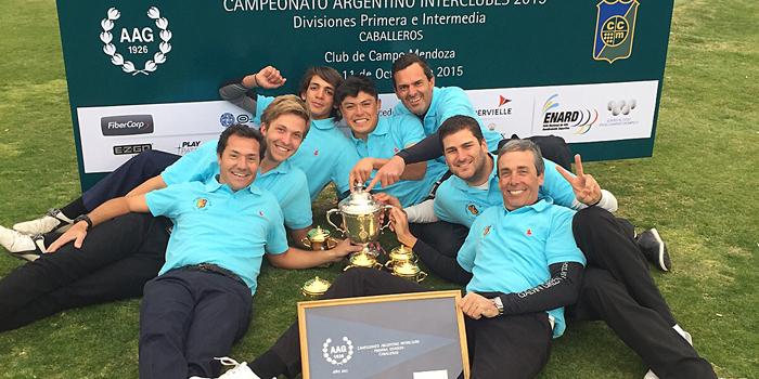 El Córdoba Golf Club es campeón nacional 2015!!!
